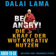 Be Angry - Die Kraft der Wut kreativ nutzen (Ungekürzt)