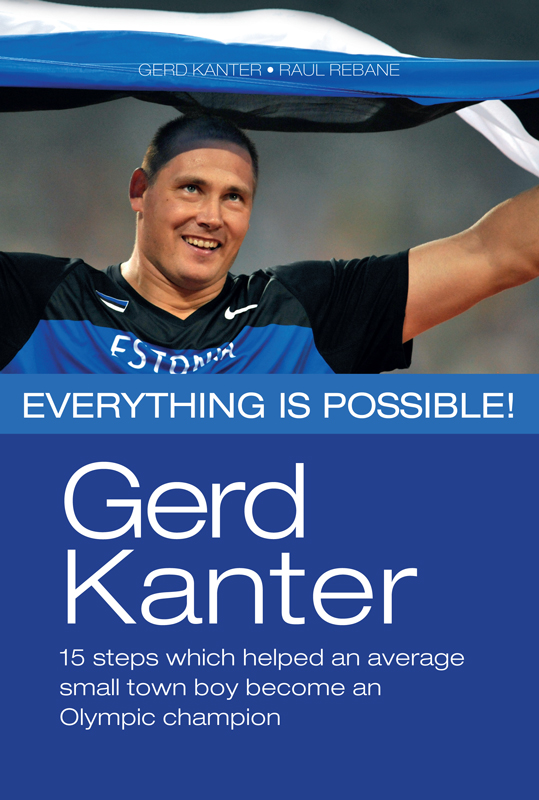 Gerd Kanter Gerd Kanter. Everything is possible! ewigstein gerd 60kf бежевый