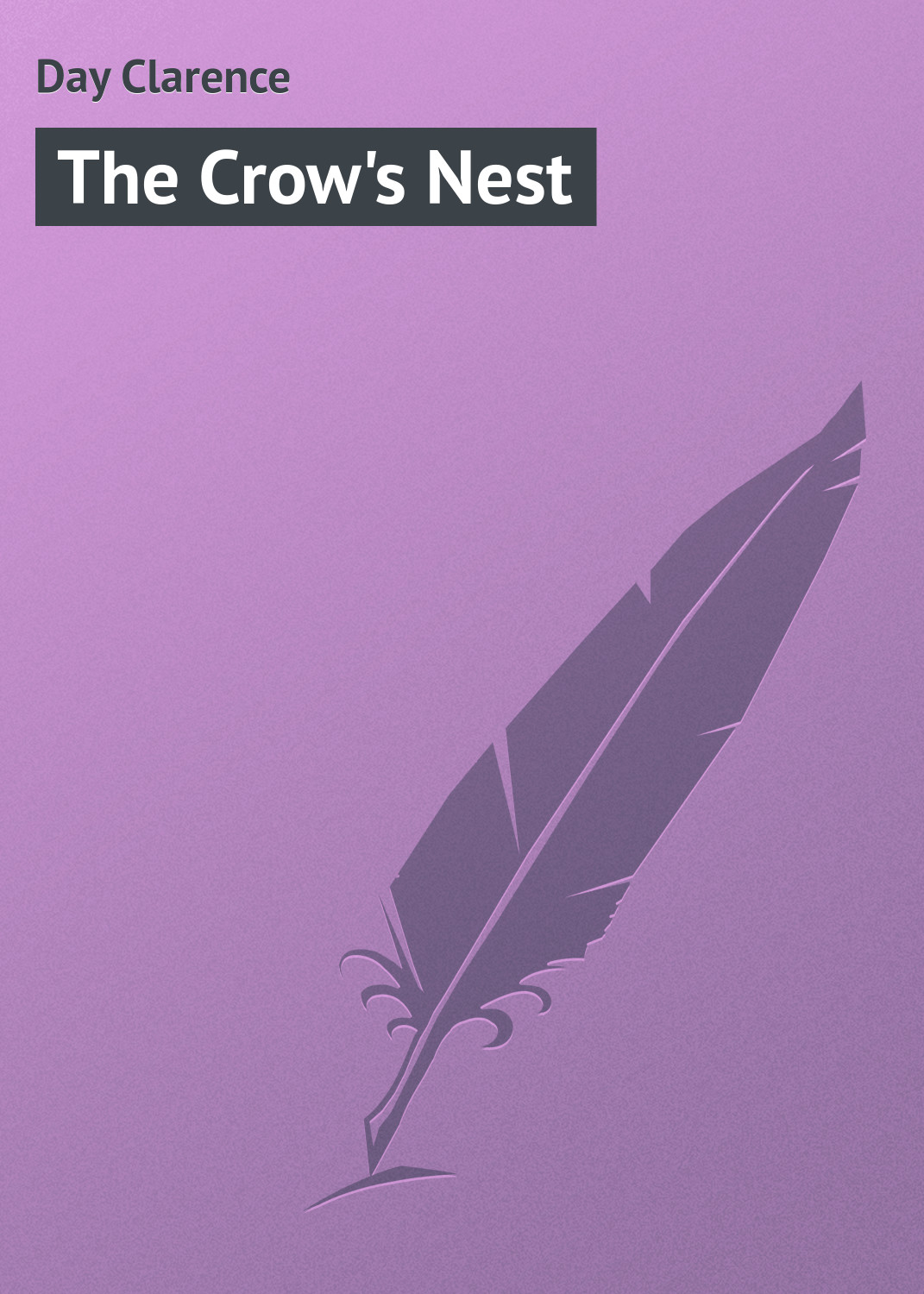 Day Clarence The Crow's Nest clarence darrow resist not evil