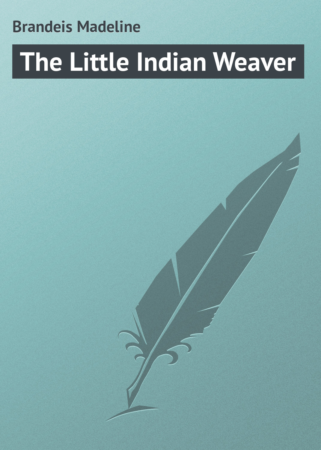 лучшая цена Brandeis Madeline The Little Indian Weaver