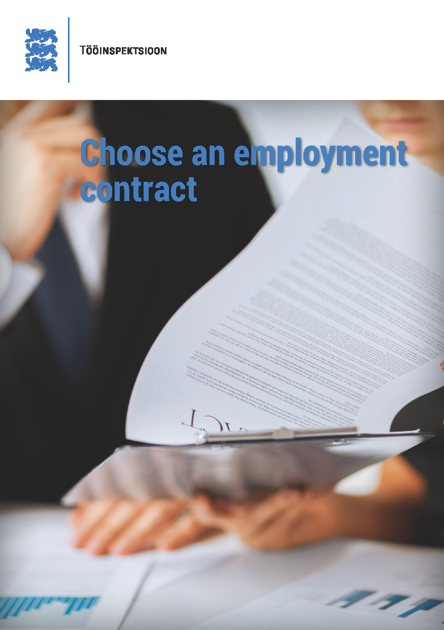 Kaia Alev Choose an employment contract private employment agencies in ethiopia