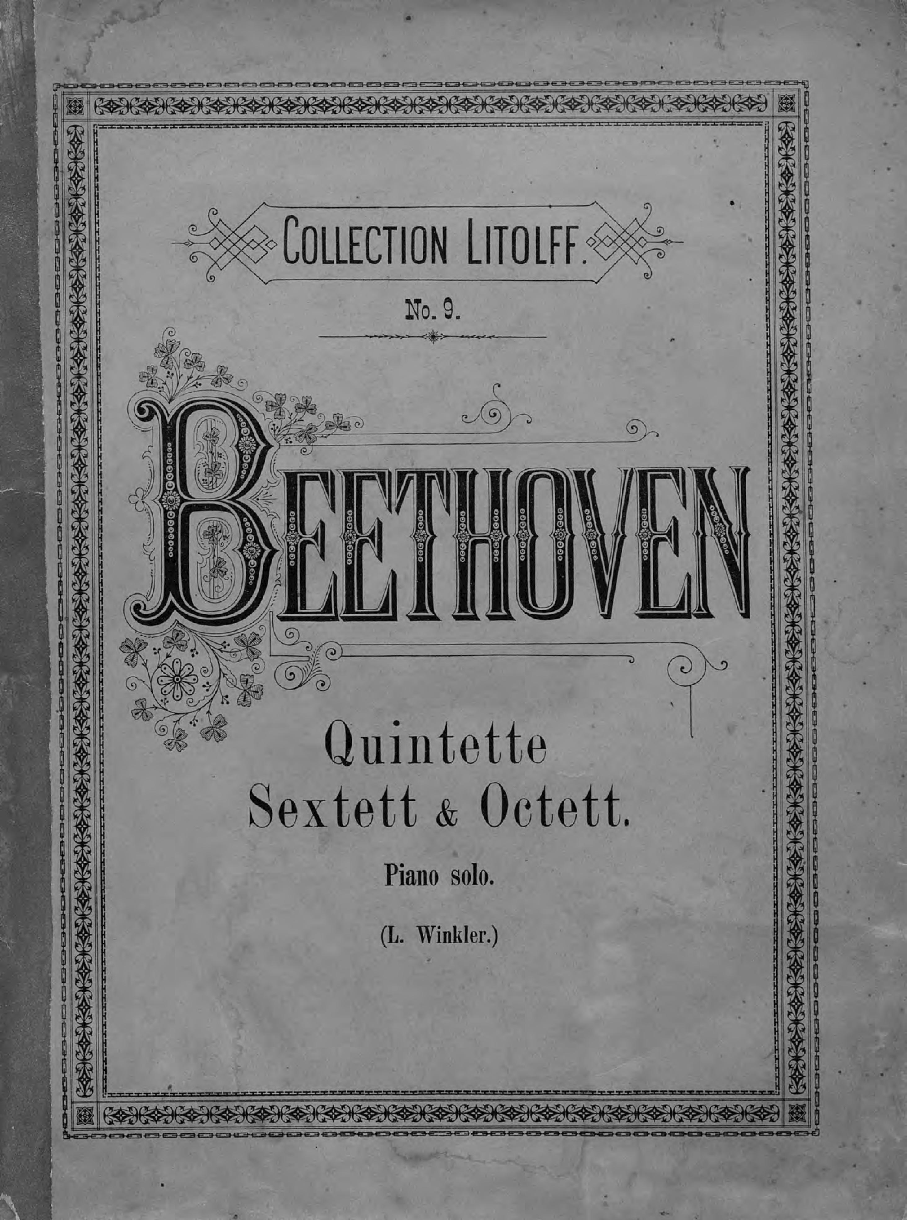 Людвиг ван Бетховен Quintette, Sextett & Octett