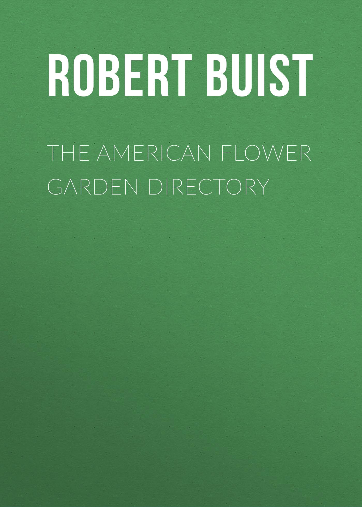 the american flower garden directory