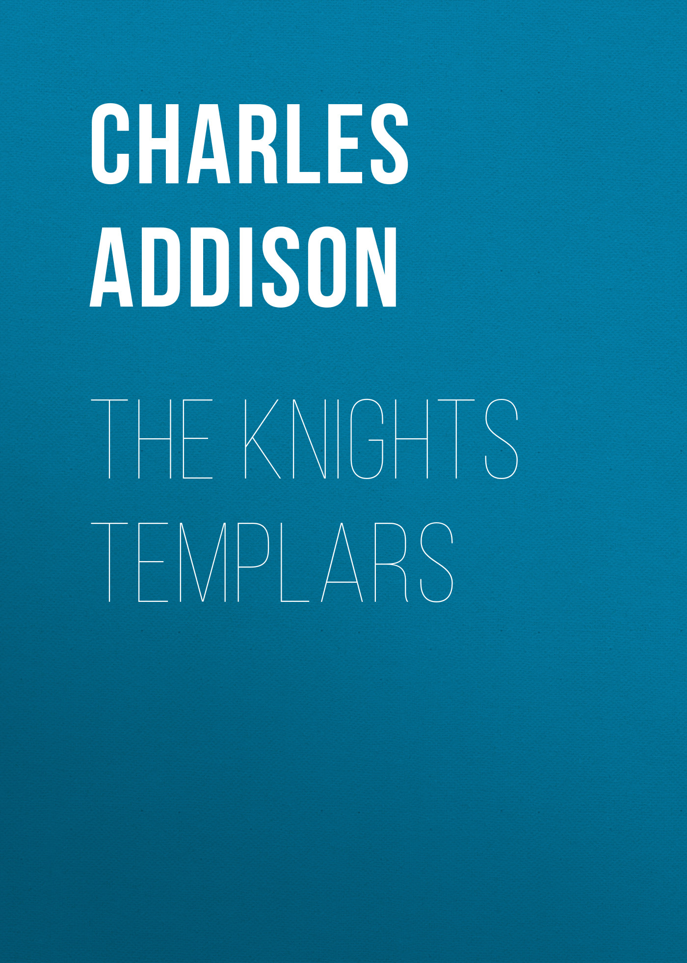 Addison Charles Greenstreet The Knights Templars майка your sun lr0315n