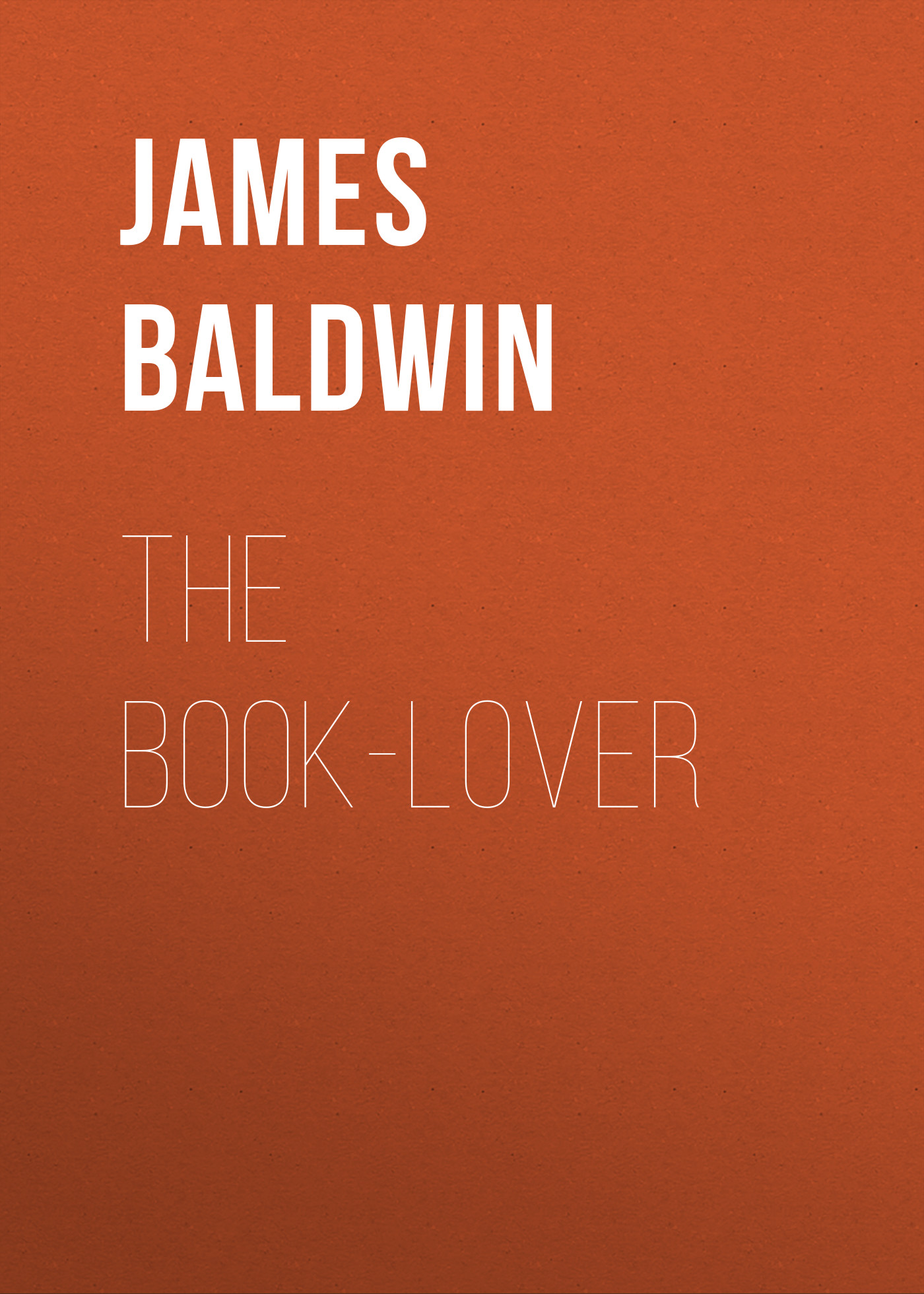 Baldwin James The Book-lover alec baldwin