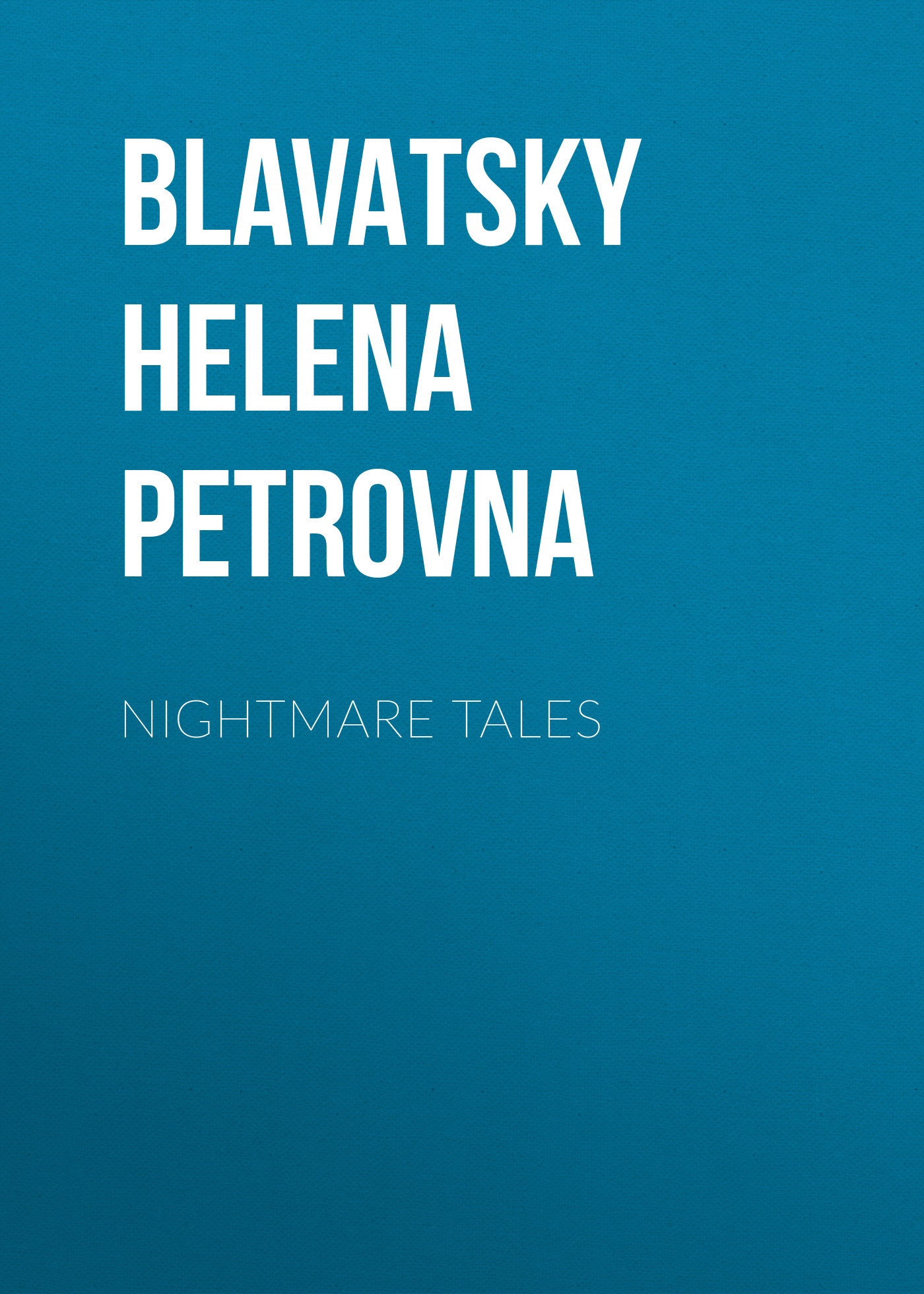 Елена Блаватская Nightmare Tales каподастр alice a007d bk a