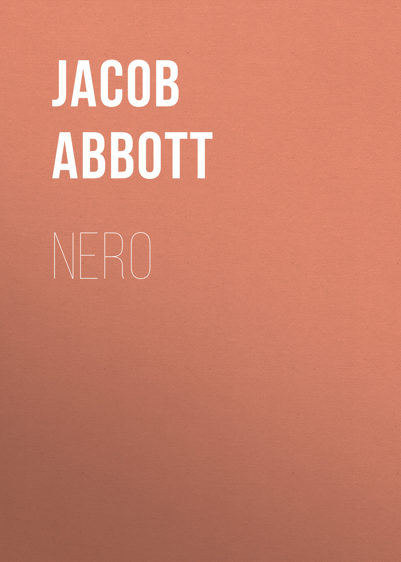 Abbott Jacob Nero abbott jacob cleopatra
