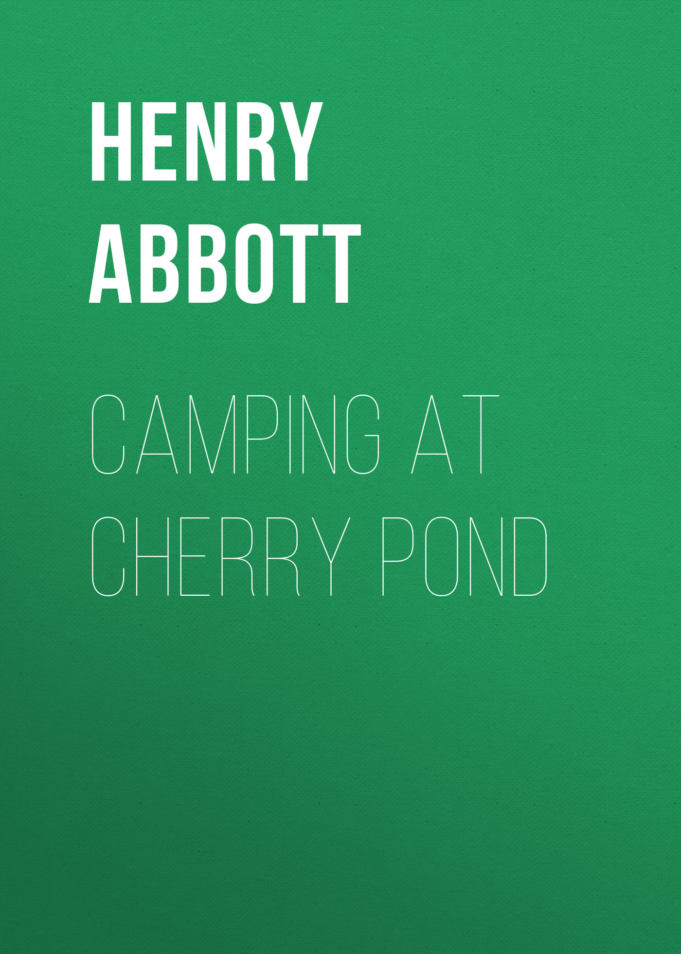 Abbott Henry Camping at Cherry Pond jil sander pure for woman