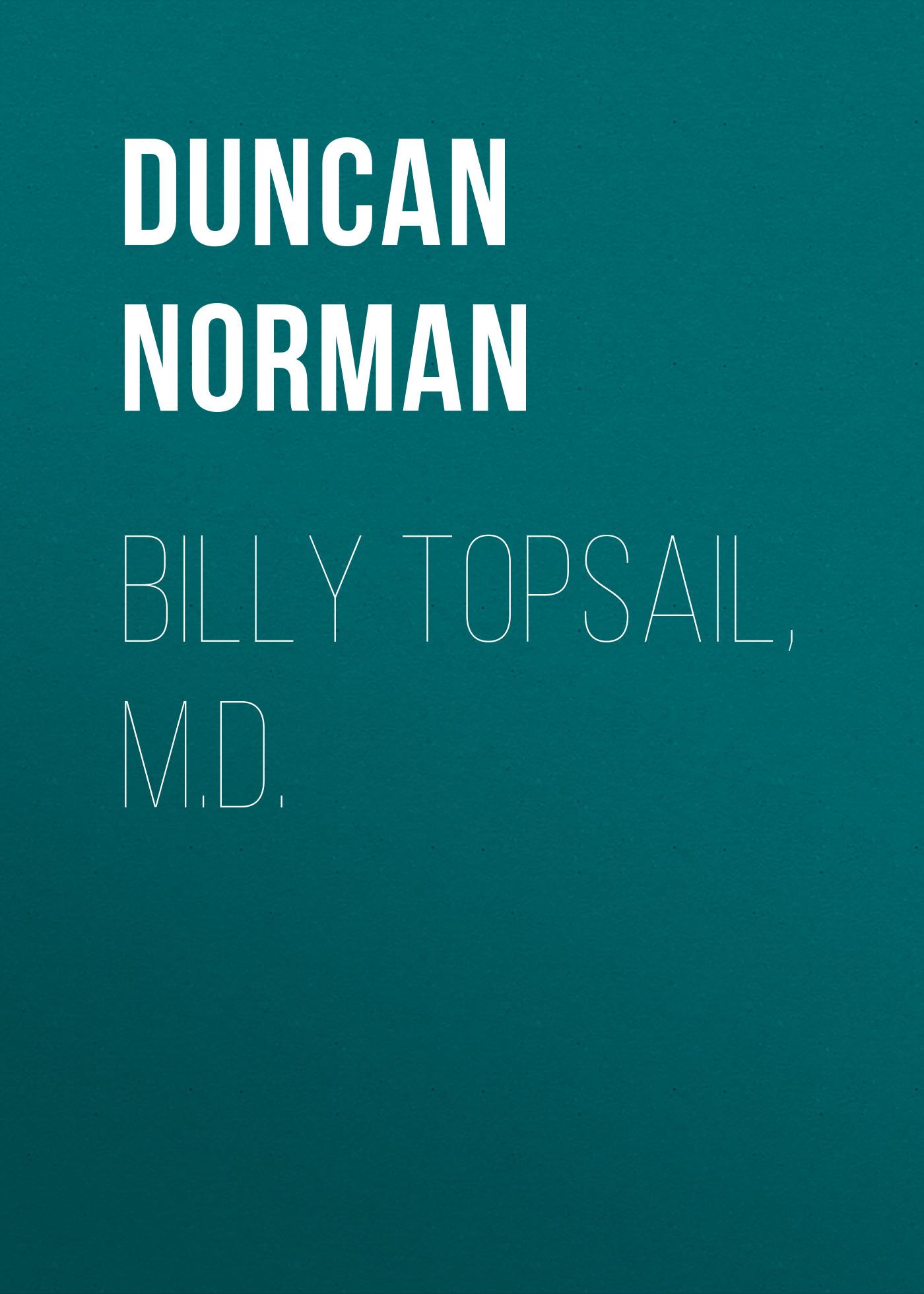 Duncan Norman Billy Topsail, M.D. oxygen norman