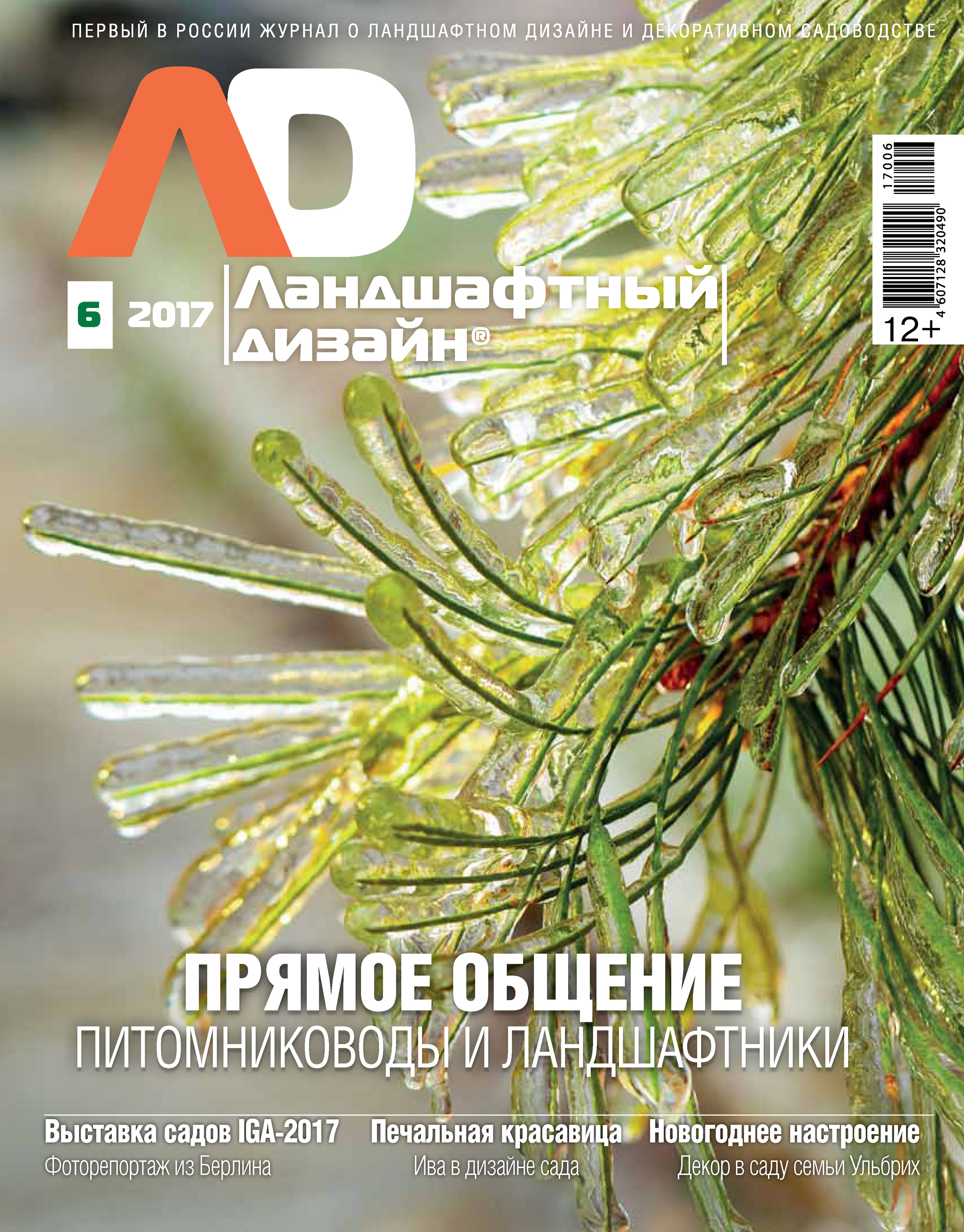 Отсутствует Ландшафтный дизайн №06/2017