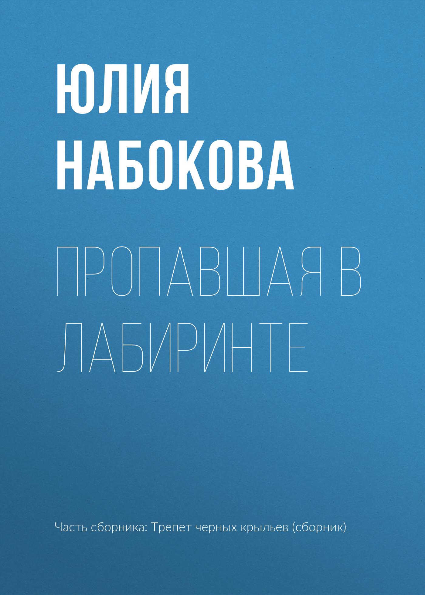 Фото - Юлия Набокова Пропавшая в лабиринте фотоаппарат