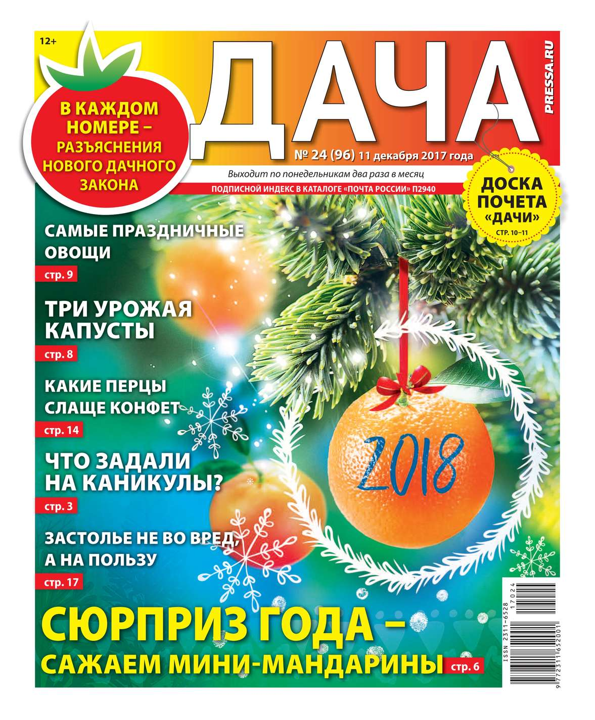 Дача Pressa.ru 24-2017