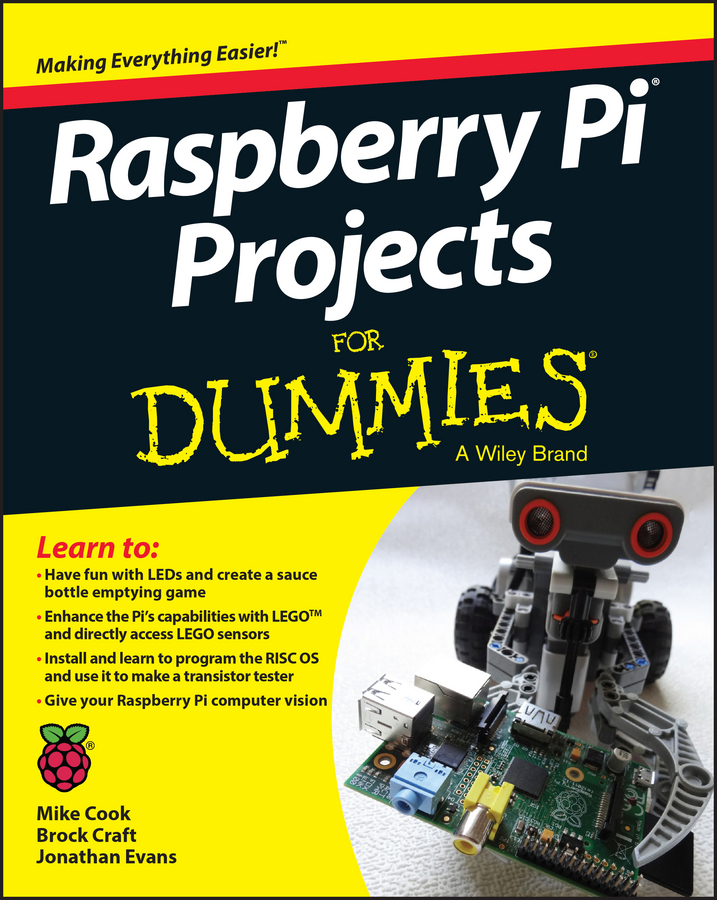 Jonathan Evans Raspberry Pi Projects For Dummies transparent box case g for raspberry pi rpi model b