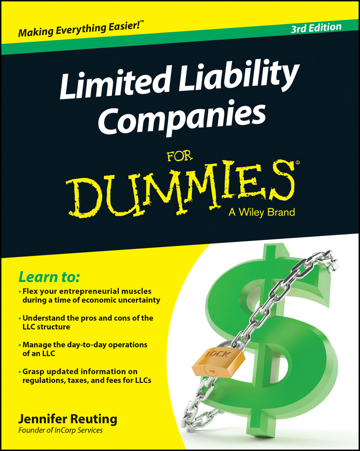 Jennifer Reuting Limited Liability Companies For Dummies все цены