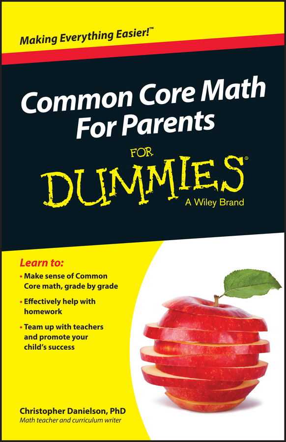 Christopher Danielson Common Core Math For Parents For Dummies with Videos Online mary sterling jane math word problems for dummies