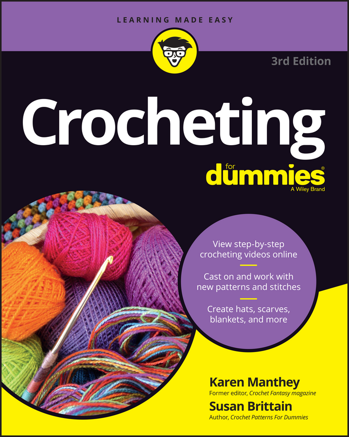 Susan Brittain Crocheting For Dummies with Online Videos free shipping 10pcs mje15033g 10pcs mje15032g mje15033 mje15032 to 220