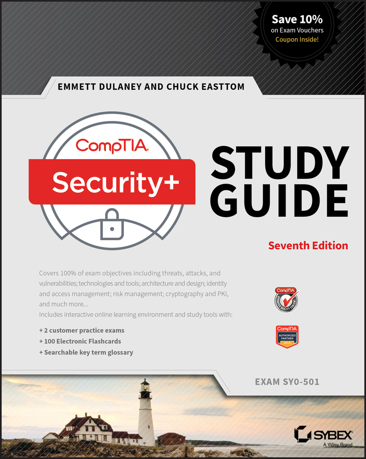 Emmett Dulaney CompTIA Security+ Study Guide. Exam SY0-501 bill ferguson comptia network review guide exam n10 006
