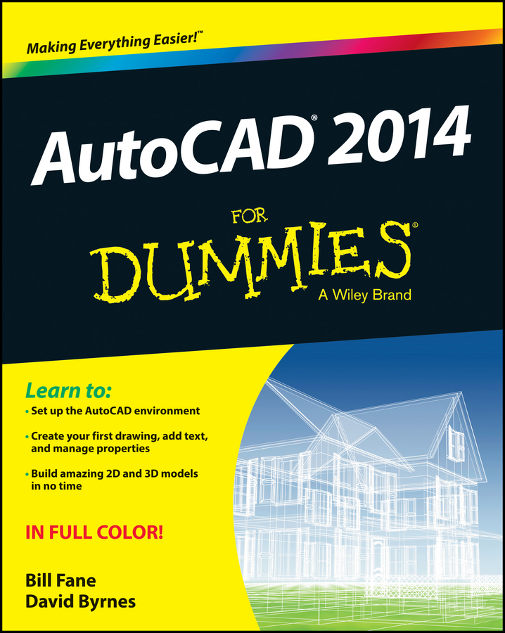 David Byrnes AutoCAD 2014 For Dummies j guenther guenther autocad – methods