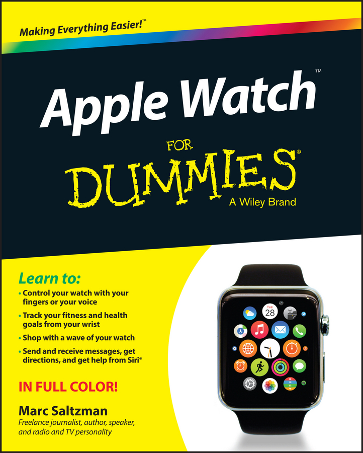 Marc Saltzman Apple Watch For Dummies qwill часы qwill 6001 01 04 9 23a коллекция classic
