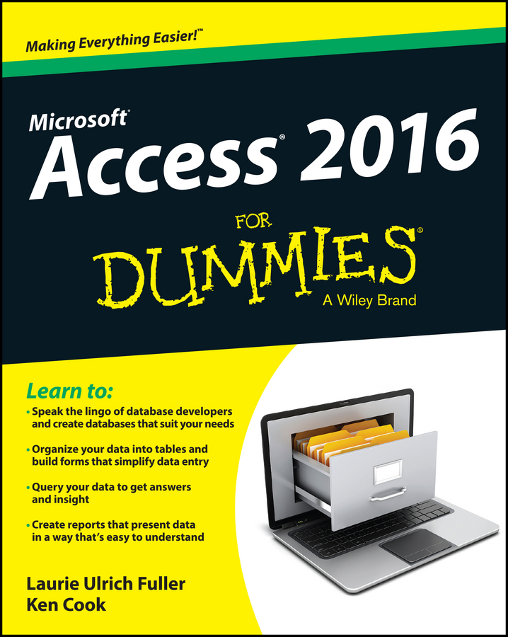 цена на Ken Cook Access 2016 For Dummies