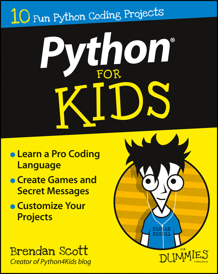 Brendan Scott Python For Kids For Dummies easy learning speak french with cdx2