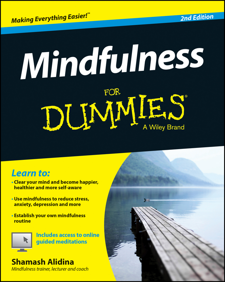 Shamash Alidina Mindfulness For Dummies anxiety depression and female sexual dysfunction fsd