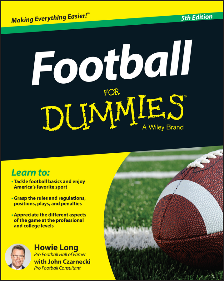 цена Howie Long Football For Dummies