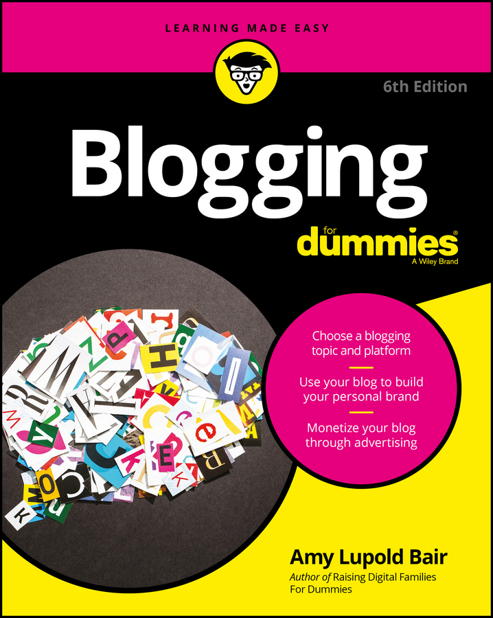 Amy Bair Lupold Blogging For Dummies kaylee berry fashion blog planner journal style blogging never run out of things to blog about again