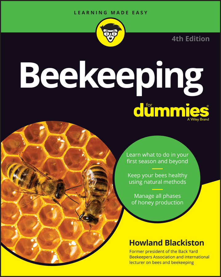 Howland Blackiston Beekeeping For Dummies bee hive smoker stainless steel w leather heat shield beekeeping equipment