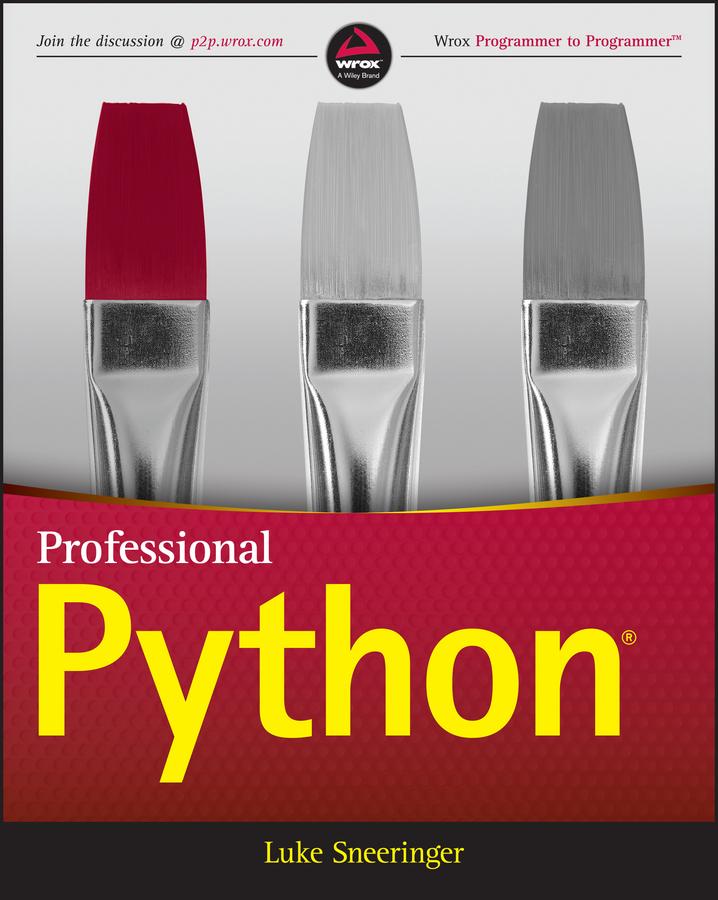 Luke Sneeringer Professional Python printio spb python more than python deep blue