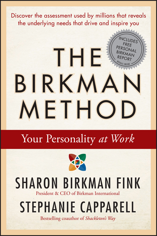 Stephanie Capparell The Birkman Method. Your Personality at Work david farbman the hunt target track and attain your goals