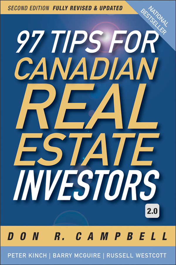 Peter Kinch 97 Tips for Canadian Real Estate Investors 2.0 eric tyson real estate investing for dummies