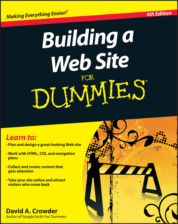 David Crowder A. Building a Web Site For Dummies vander veer creating web pages for dummies 3rd edition