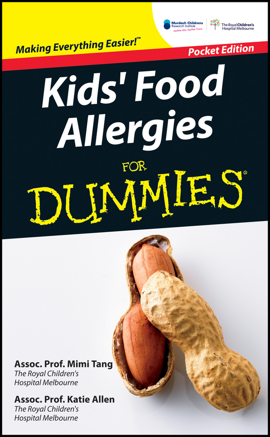 Mimi Tang Kid's Food Allergies For Dummies brendan scott python for kids for dummies
