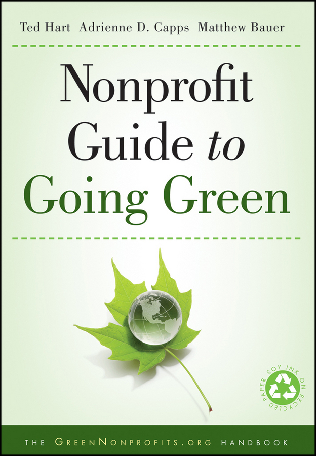 Ted Hart Nonprofit Guide to Going Green нож с фиксированным клинком dobermann iii plain edge page 2
