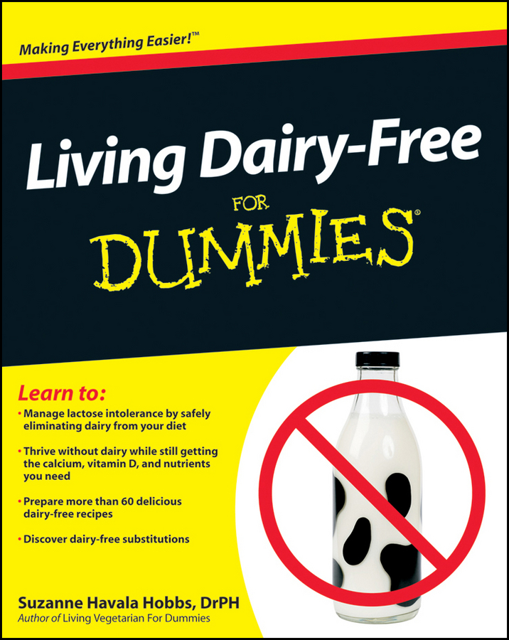 Suzanne Hobbs Havala Living Dairy-Free For Dummies