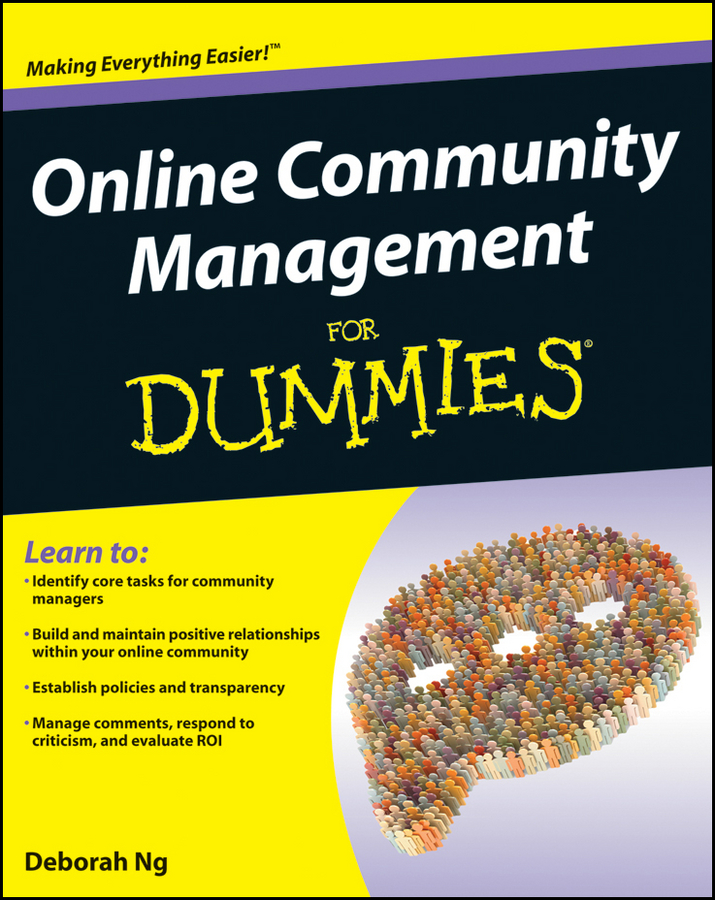 Deborah Ng Online Community Management For Dummies forums