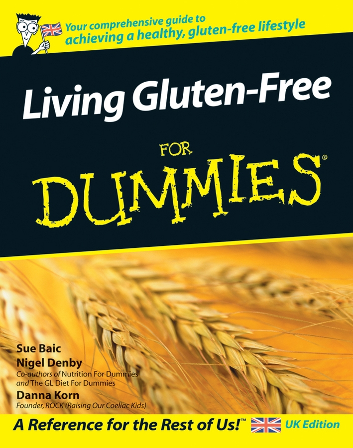 Danna Korn Living Gluten-Free For Dummies gluten free diet