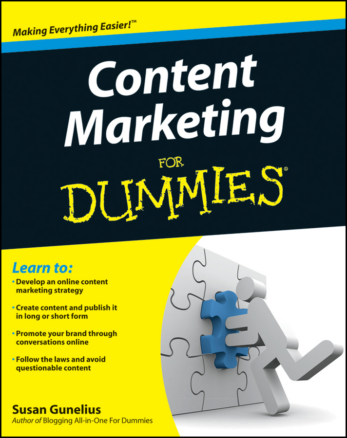 Susan Gunelius Content Marketing For Dummies jesse stay google marketing for dummies