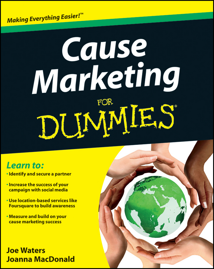 Joe Waters Cause Marketing For Dummies chris treadaway facebook marketing an hour a day