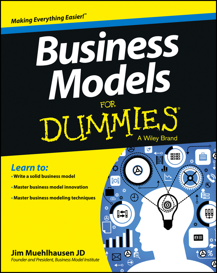 лучшая цена Jim Muehlhausen Business Models For Dummies