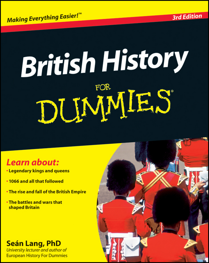 Фото - Sean Lang British History For Dummies kings and queens