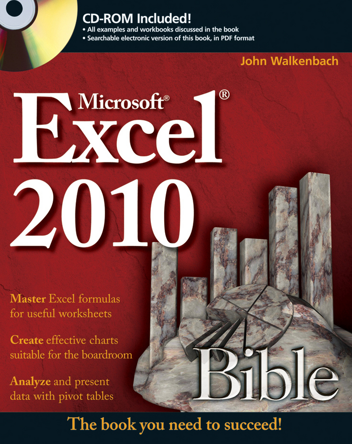 John Walkenbach Excel 2010 Bible john walkenbach excel vba programming for dummies