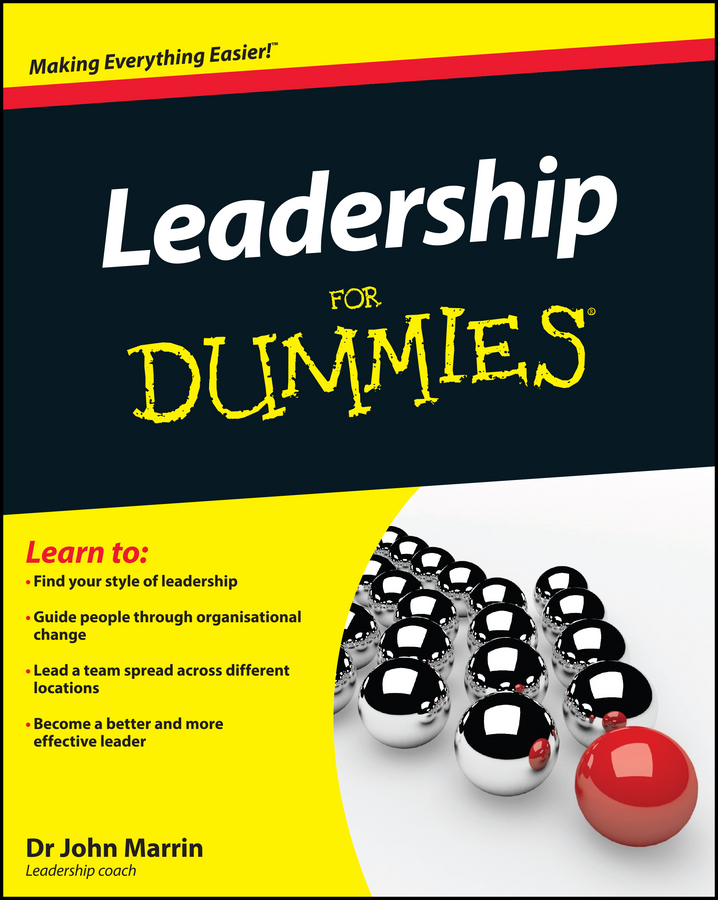John Marrin Leadership For Dummies cedric charlier пиджак