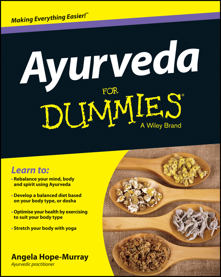 Angela Hope-Murray Ayurveda For Dummies ayurveda