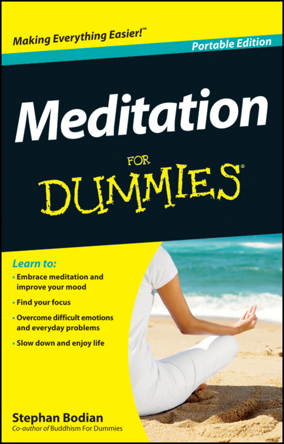 Stephan Bodian Meditation For Dummies hospitals for patient s healing and well being