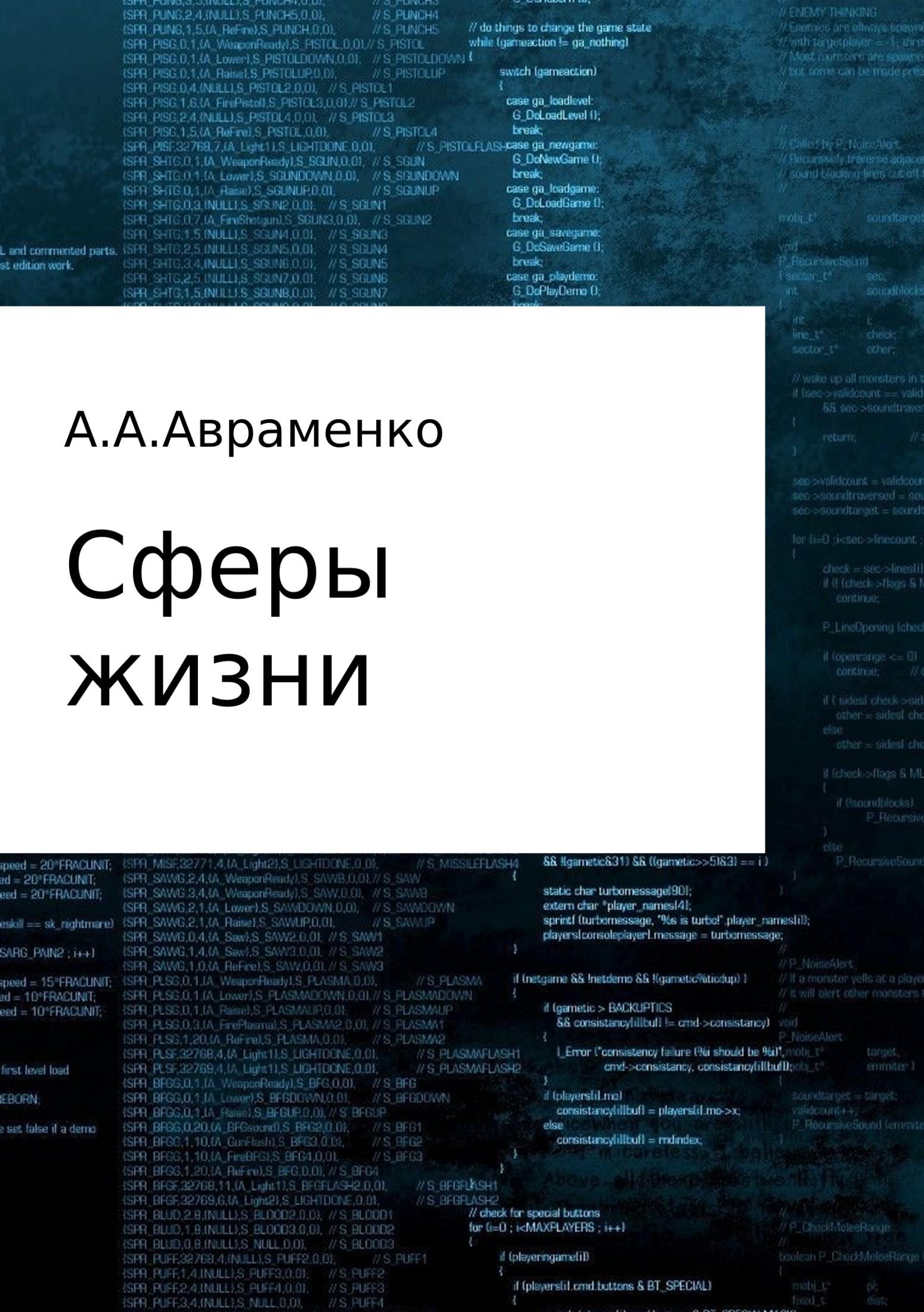 Андрей Алексеевич Авраменко Сферы жизни imaginary homelands