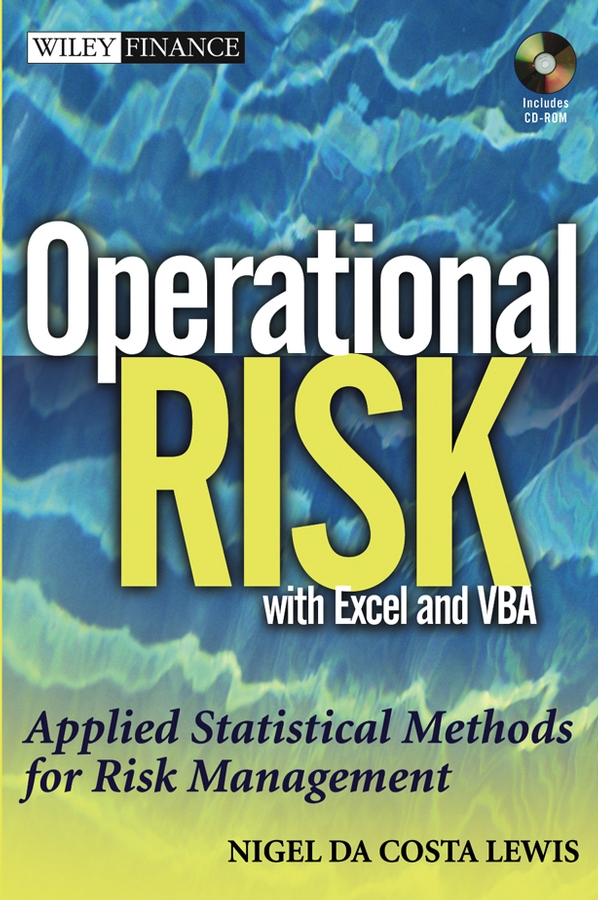 Nigel Lewis DaCosta Operational Risk with Excel and VBA. Applied Statistical Methods for Risk Management, + Website free shipping 5pcs lot operational amplifiers op27g op27 original product