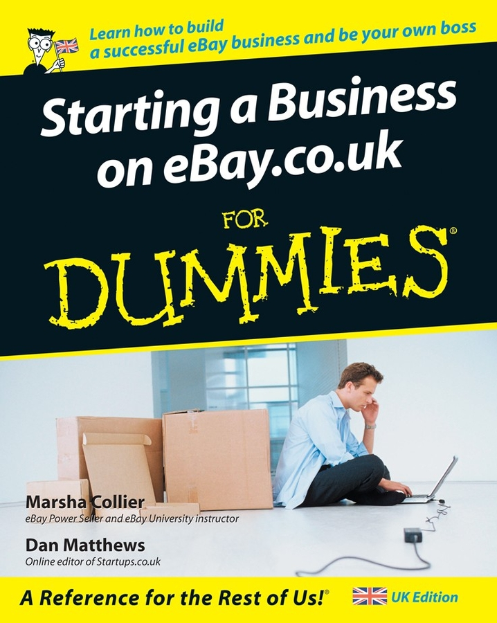 Marsha Collier Starting a Business on eBay.co.uk For Dummies visaton fr 8 wp 8 white 1 шт