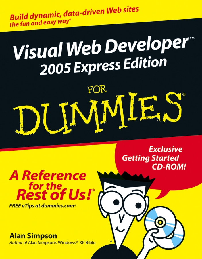 Alan Simpson Visual Web Developer 2005 Express Edition For Dummies 2 1x5 5mm f to 5 0x7 4mm male dc power plug connector adapter for dell hp laptop r179 drop shipping